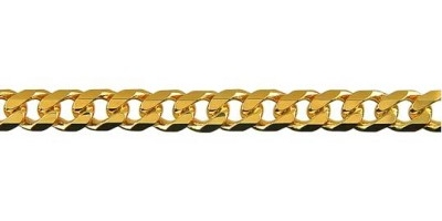 Chain width = 5.4mm  Approx. weight 9ct yellow gold for 50cm = 30.80g   Available in the following:  18ct yellow: 55, 60cm  9ct white: 55, 60cm  9ct yellow : 45, 50, 55, 60, 70cm