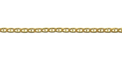 Chain width = 2.4mm (.50mm thick) Available in the following:  9ct yellow : 40, 45, 50, 55, 60, 70cm