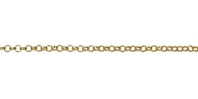 Chain width = 1.8mm  Approx. weight 9ct yellow 50cm – 3.49g Available in the following:  9ct white:40, 45, 50cm  9ct yellow : 40, 45, 50cm