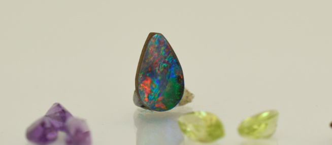 Boulder Opal suitable for cutting to size.