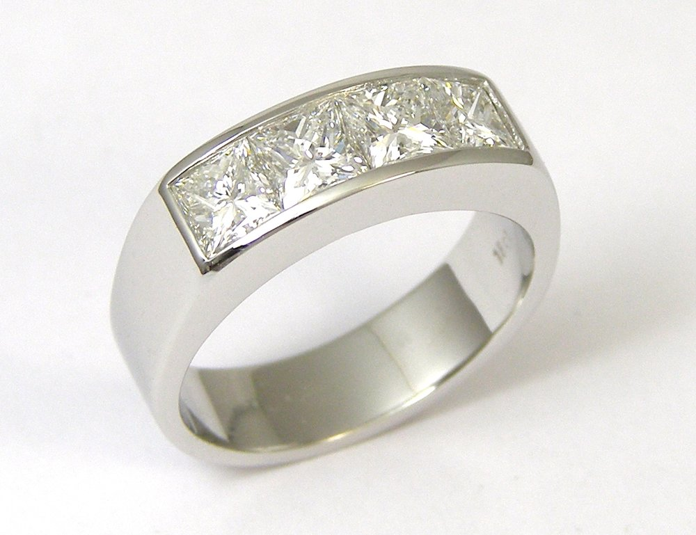 The original 4 stone ring made in 2011.