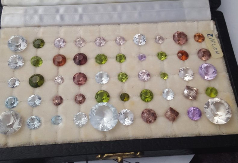 Gems cut by the late Grandfather