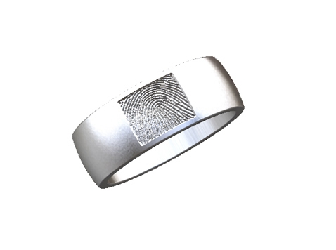 Digtial mockup of the ring.