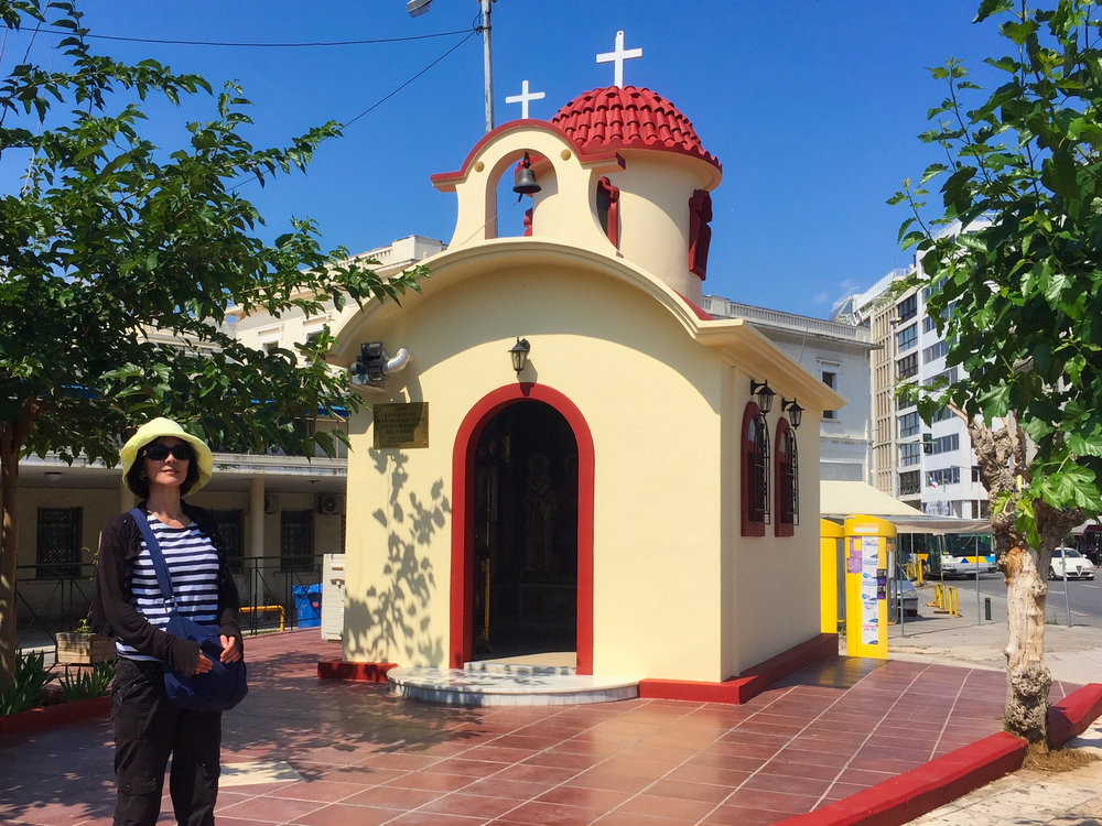 This little Church was on the walk from the train station back to the boat.