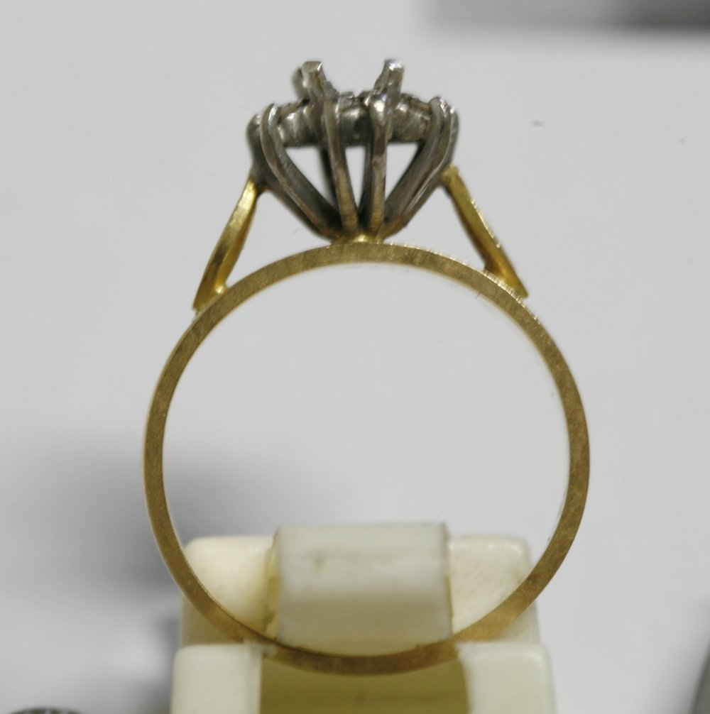 The ring minus the gem