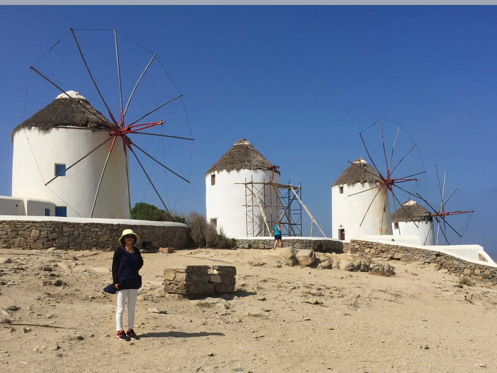 The famous windmills.