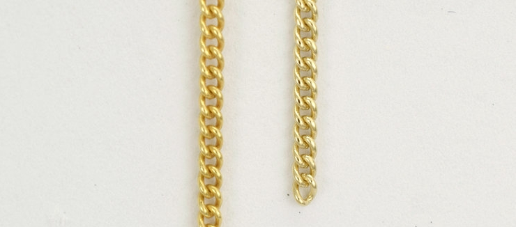 Same 9ct gold chain but a different colour. Why might surprise you.