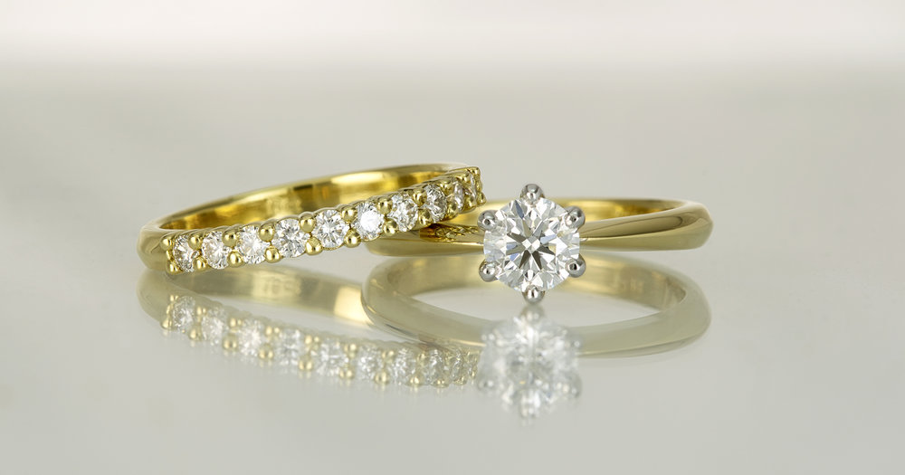 Rings that came in to be remade