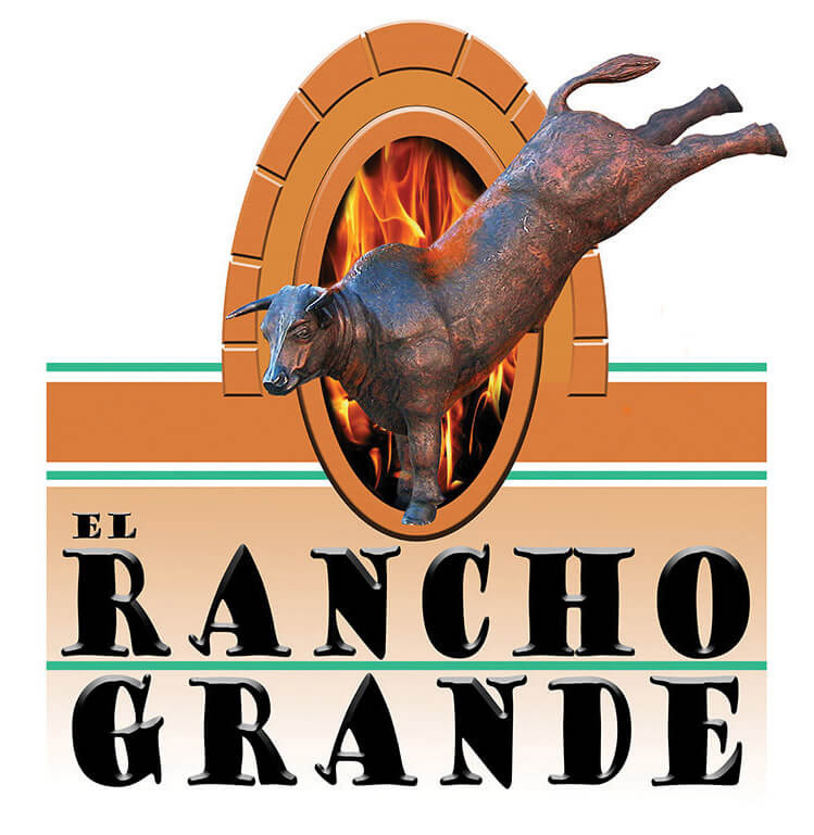 """ Diablo "" is the  Official SpokesBull  for  El Rancho Grande Mexican Restaurant"