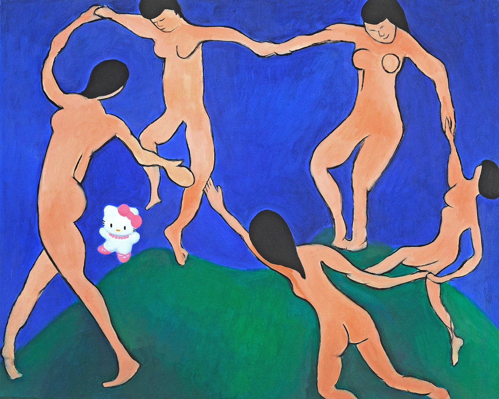 Hello Matisse (in the buff)