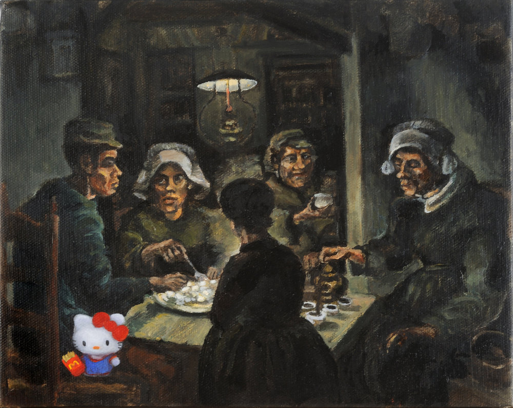 Hello van Gogh (potato eaters)
