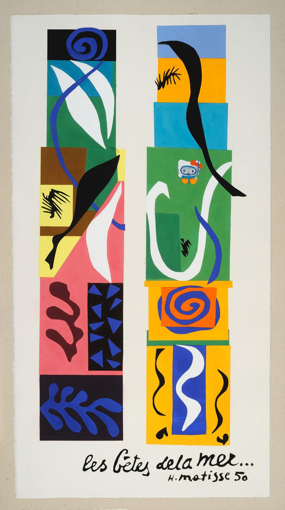 Hello Matisse (scuba)