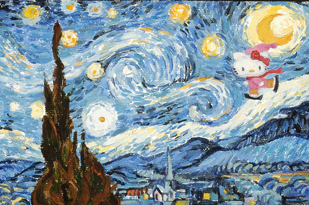 Hello Starry Night (skater)