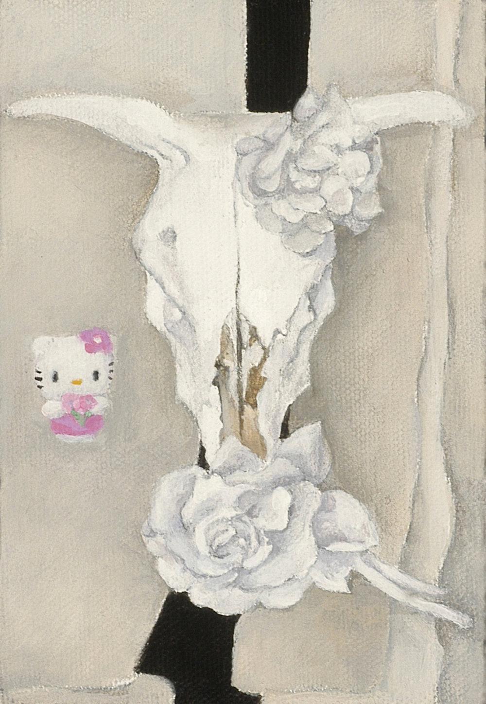 Hello O'Keeffe (skull)