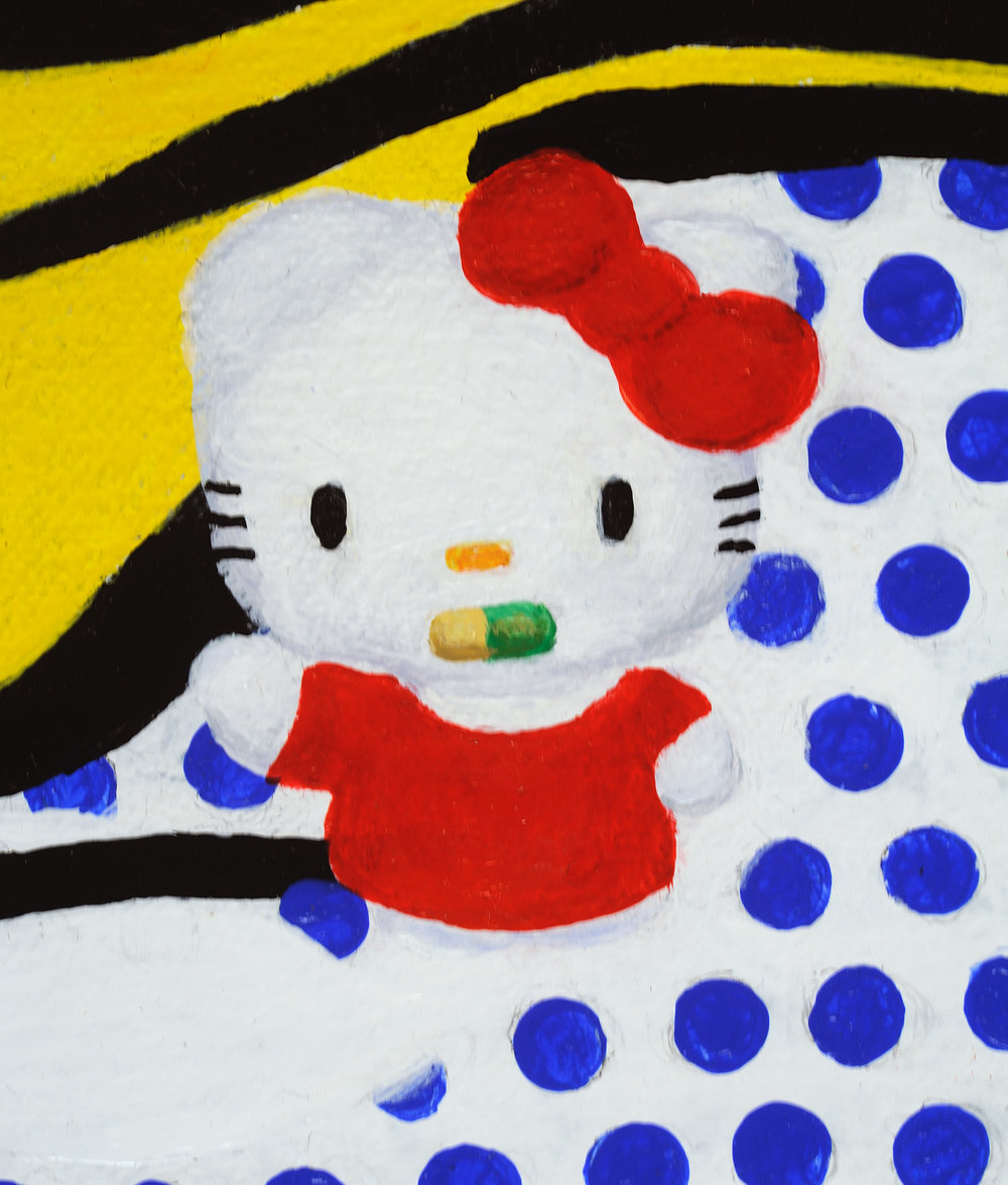 Hello Lichtenstein (prozac) detail