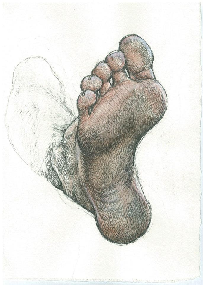 Danny's Foot