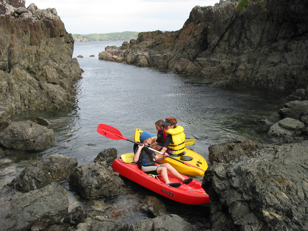 "Lots of kayak exploring around ""Goat Island"" to be done"