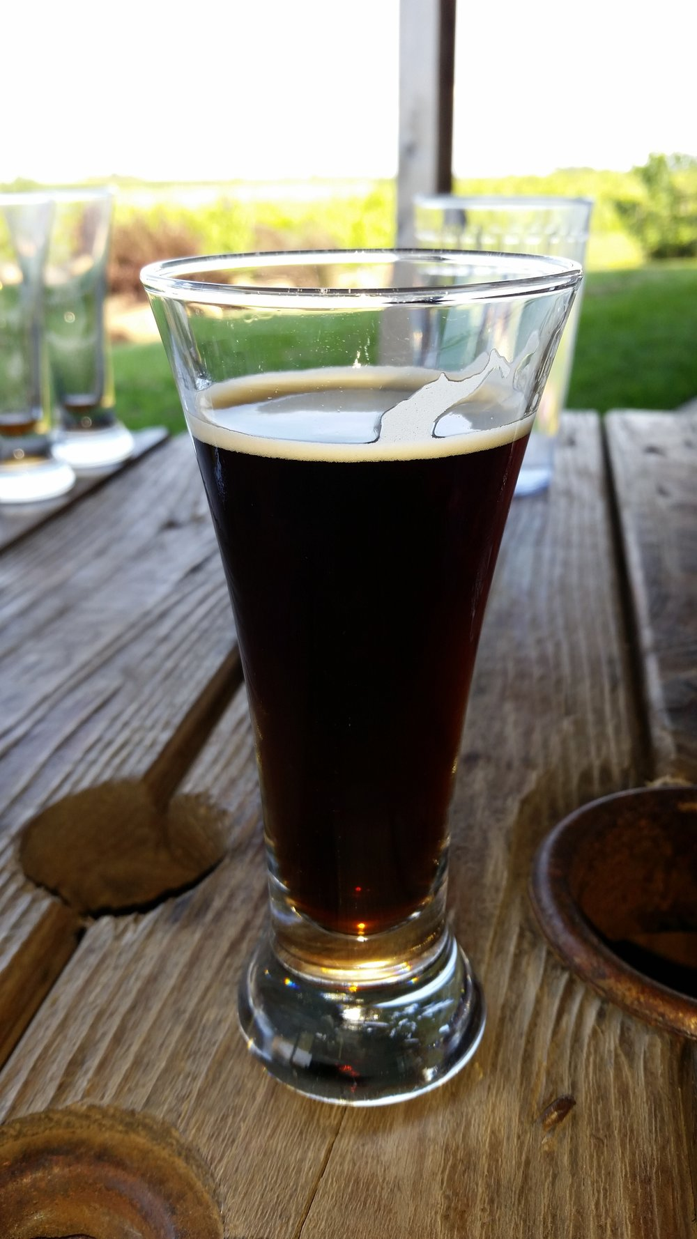 S'mores Porter full of graham cracker and vanilla notes
