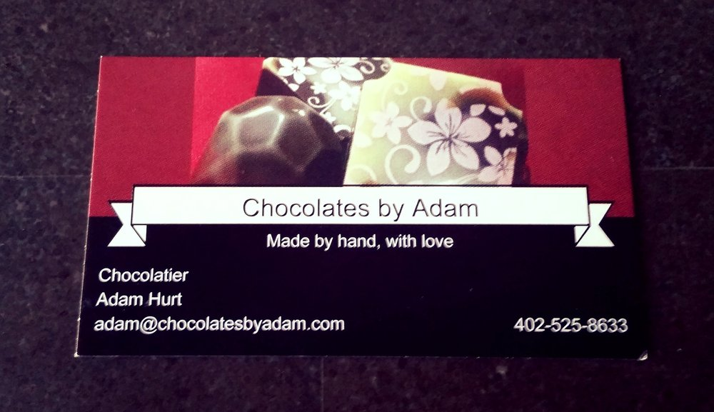 If you would like to contact Adam, here is his business card.