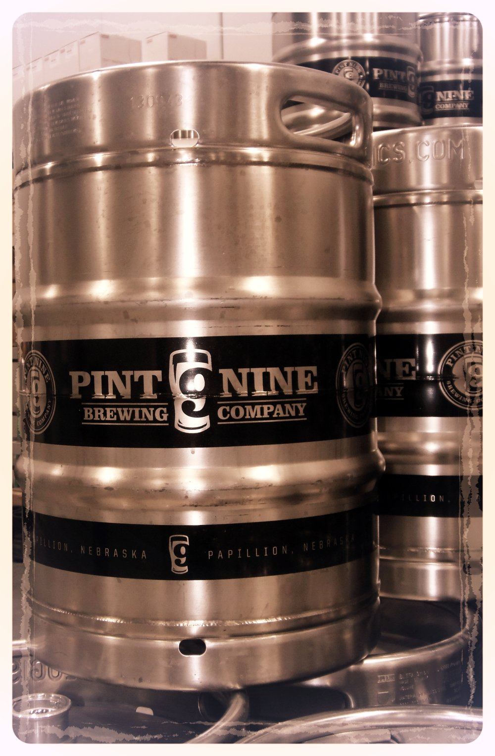 Keep those kegs coming - it is great to be able to get a Pint Nine beer around town!