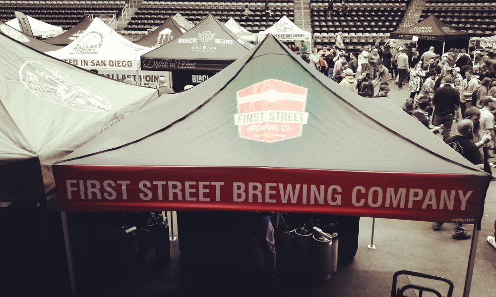 First Street Brewing beers stand out in a crowd