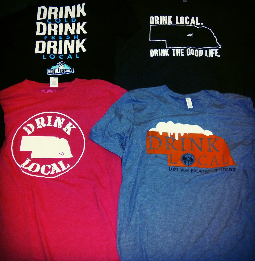 Theme shirts like Drink Local can be a lot of fun
