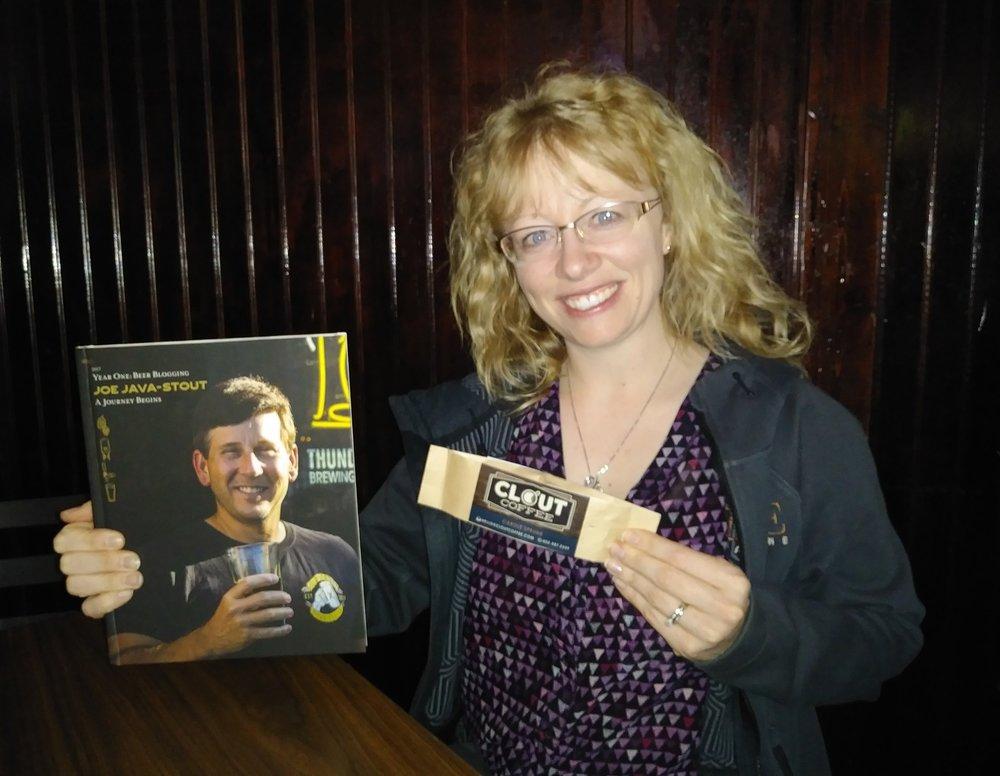 Carole Sprunk, owner of Clout Coffee, Elkhorn, NE