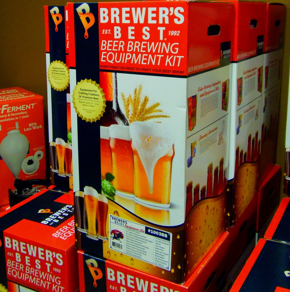 Brewing kits are another option when it comes to homebrewing