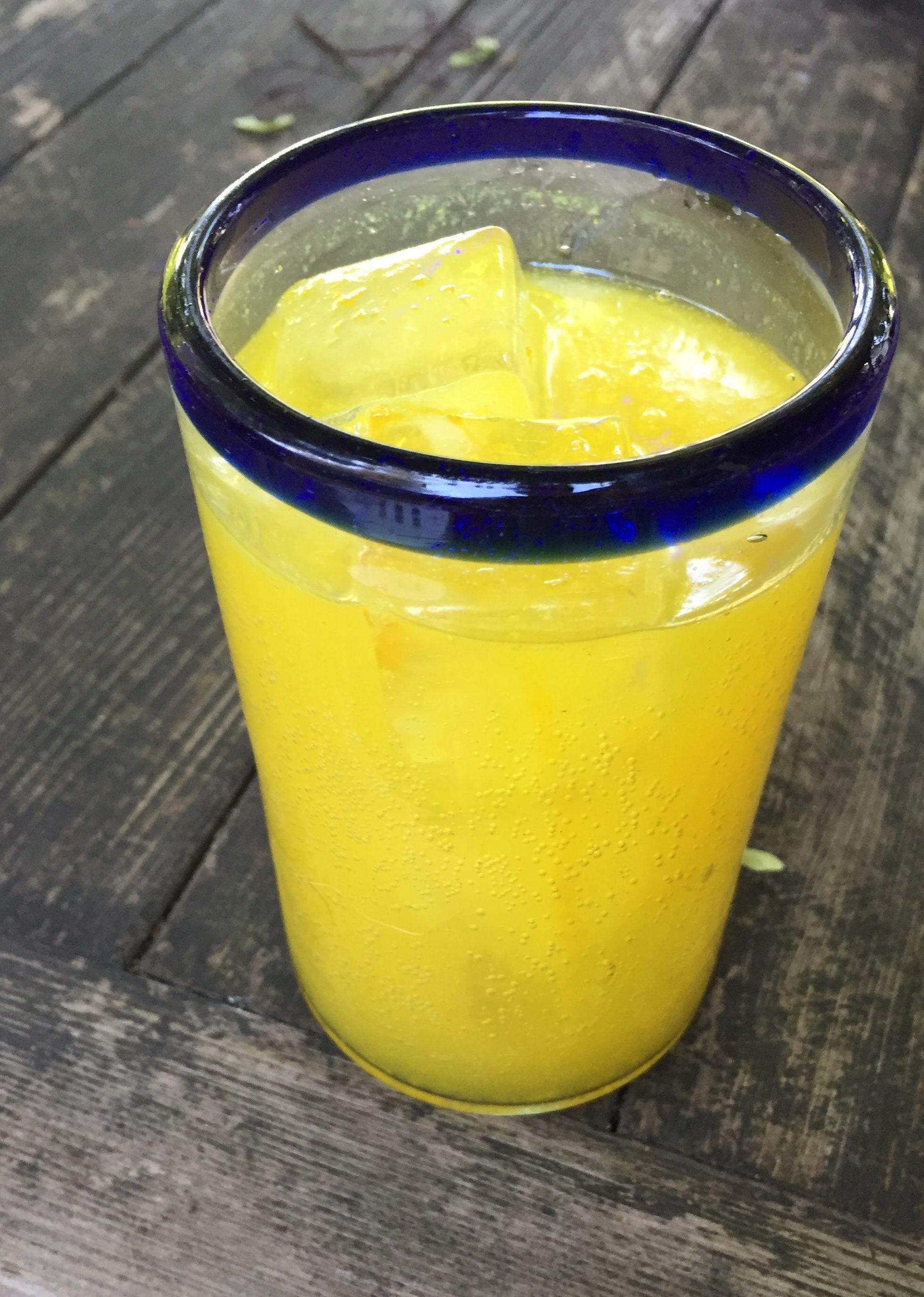 Turmeric Ginger Switchel