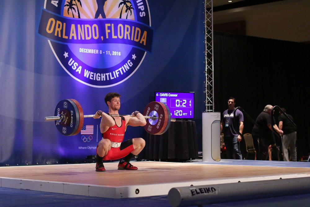 Connor Davis American Open Championships Orlando, Florida December 2016