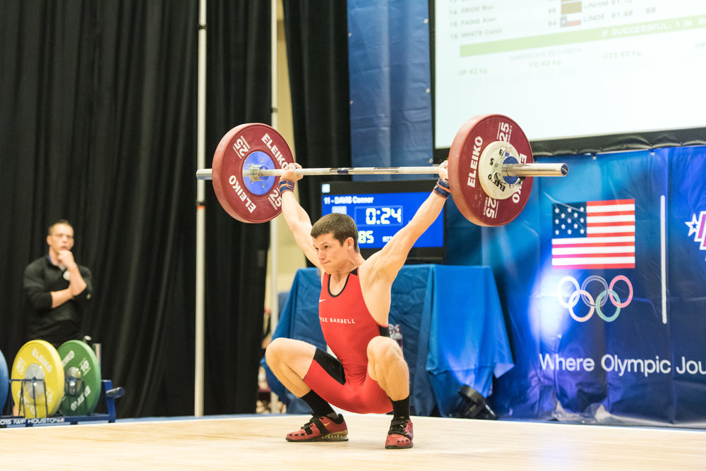 Connor Davis took 7th at the 2016 National University Championships