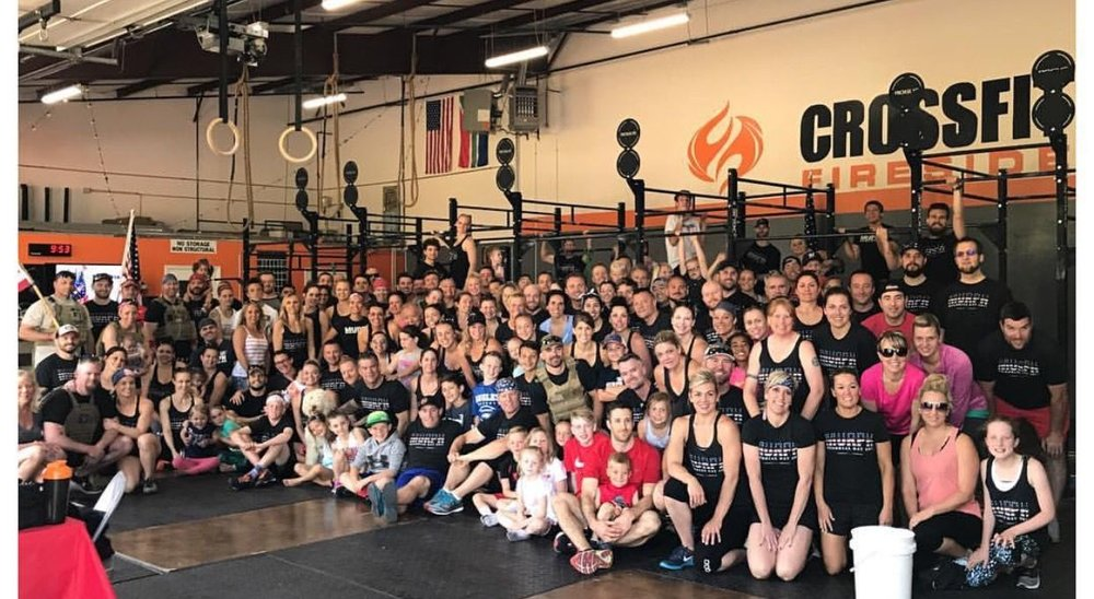 Catie is co-owner of Crossfit Fireside.
