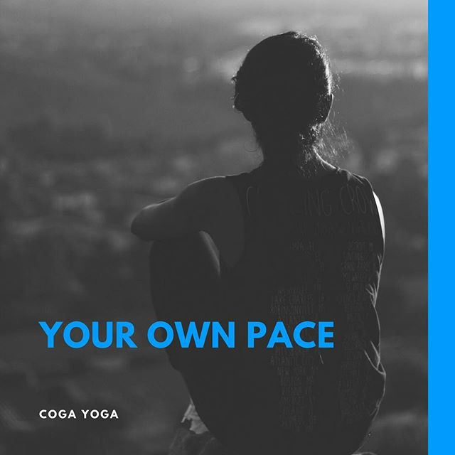 We all start yoga 🧘‍♂️ with our own aims and at our own pace. Don't feel overwhelmed everyone's journey is unique. #cogayoga #yogaeverydamnday #yogainspiration #yogalife #curvyyoga #wellness #innerwestsydney