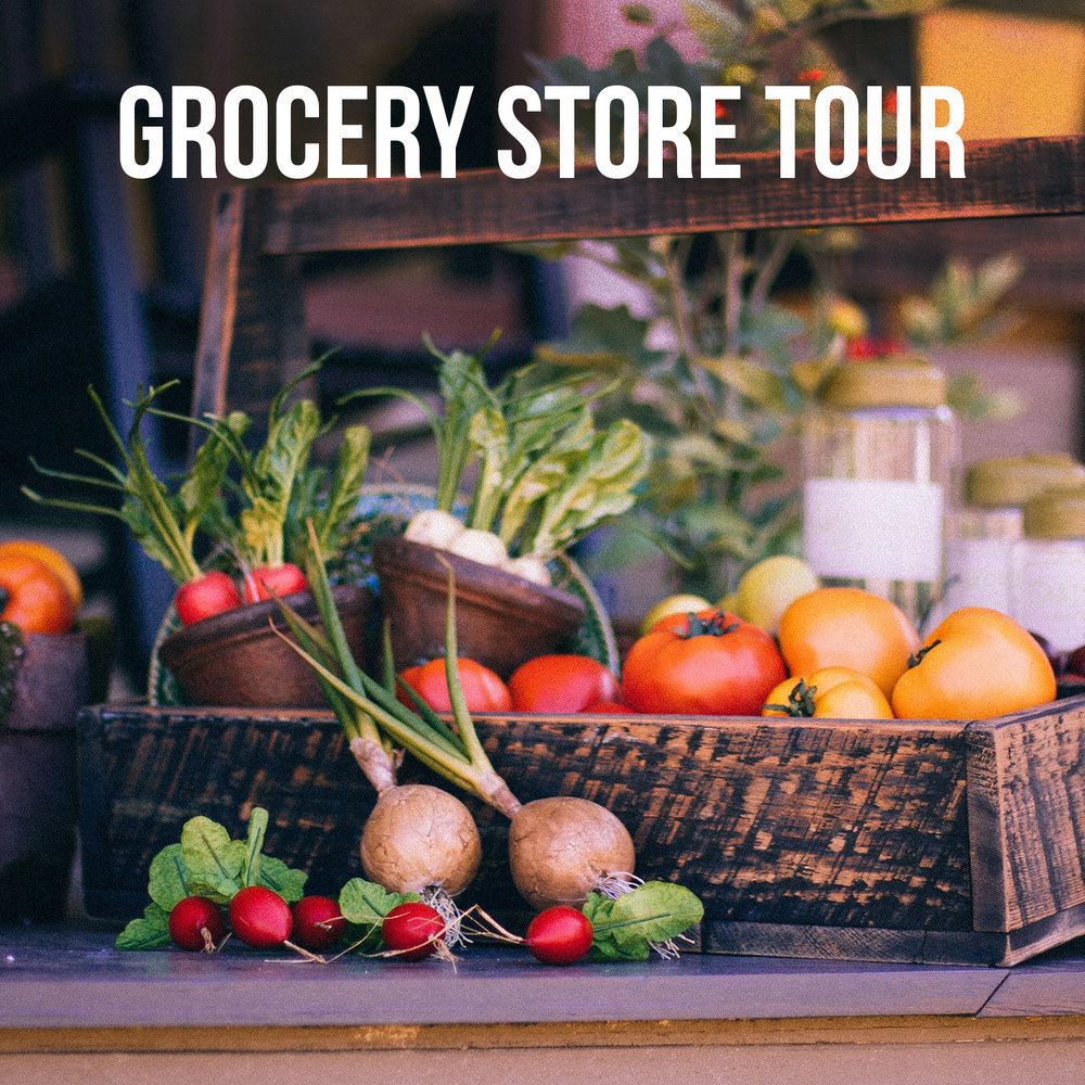 Health Coach Grocery Store Tour