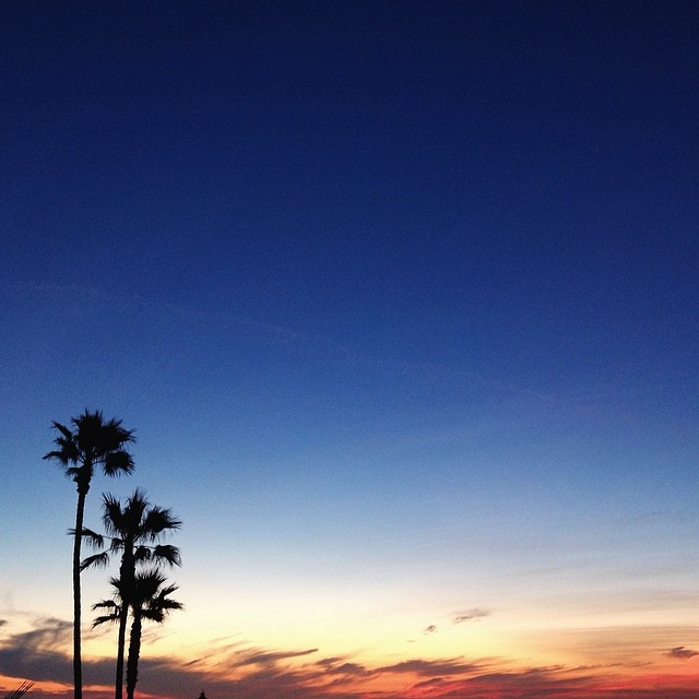 Remembering postcard perfect sunsets... LA in t-minus 12 hours.