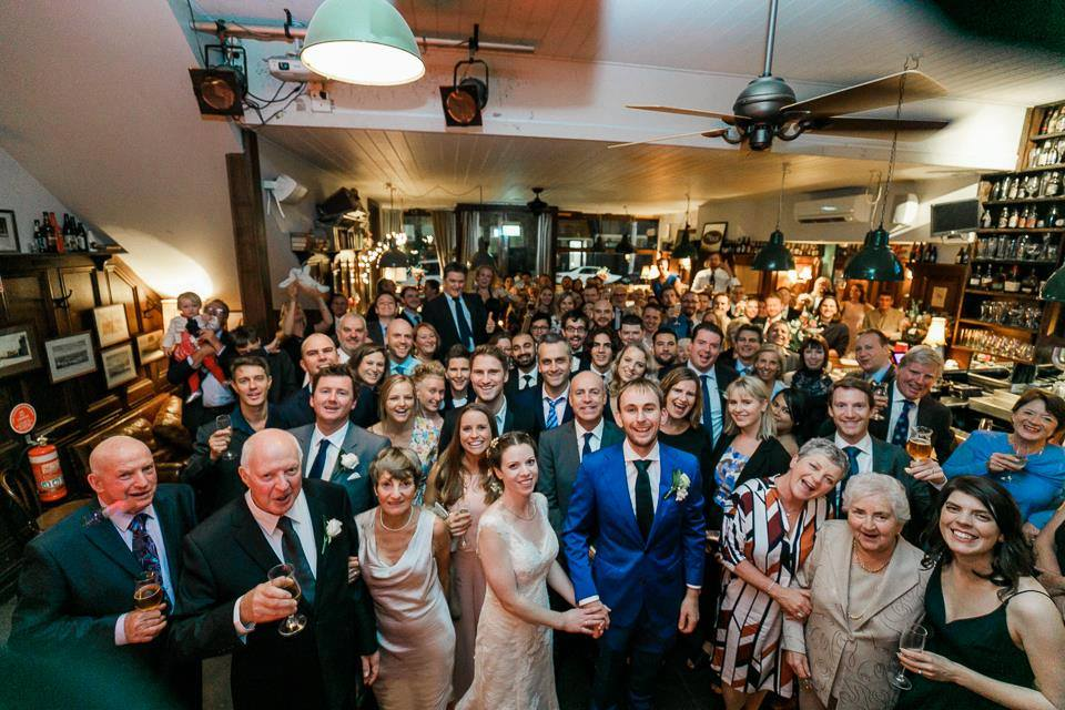 melbourne bar wedding