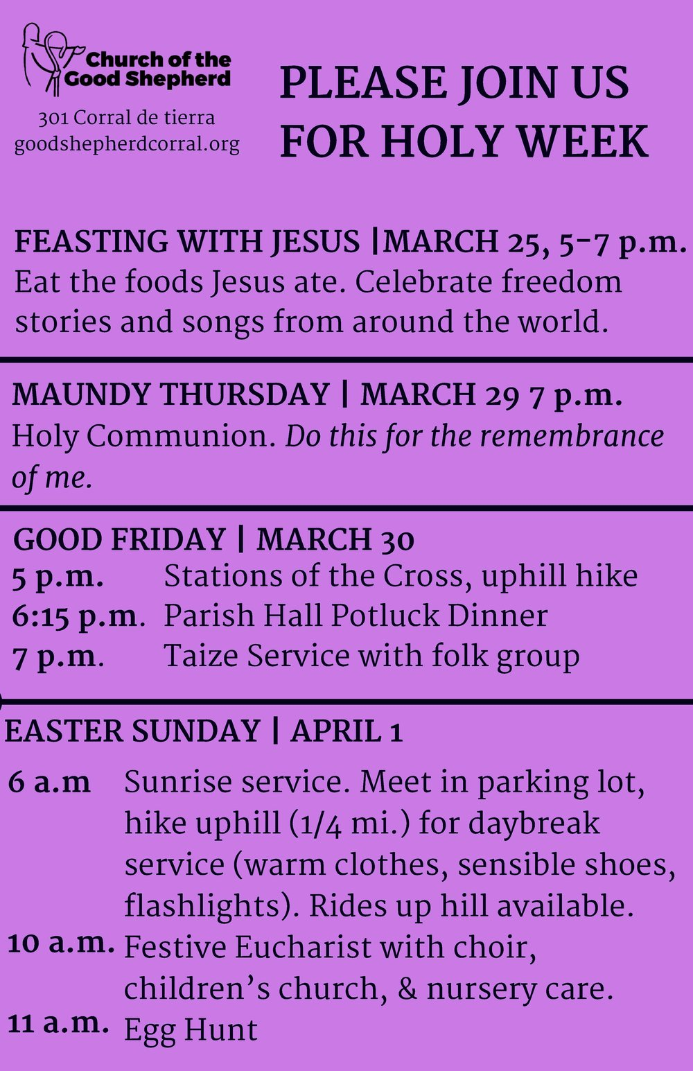Holy Week Bulletin Board 2018.jpg