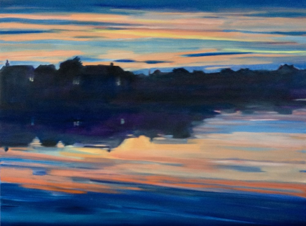 Matunuck Sunset, 24 x 30