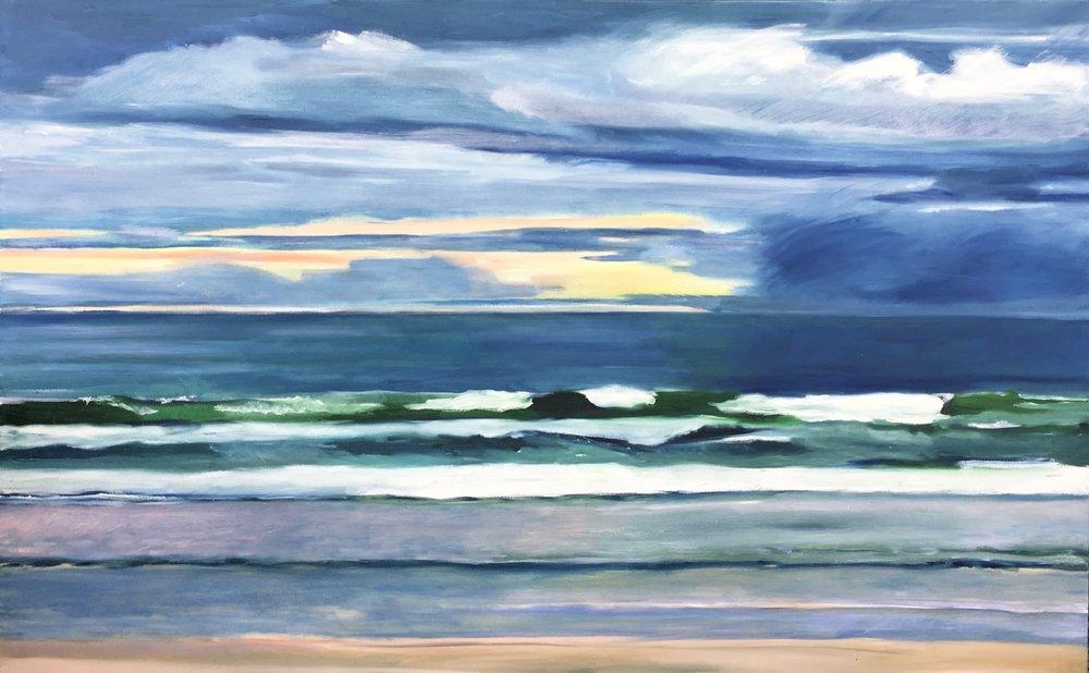 Ocean Storm, 30 x 48