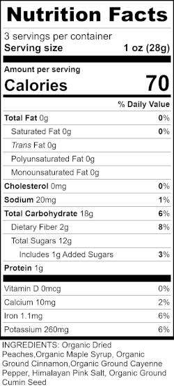 Maple Spice Peaches RecipeFormula Nutrition Labels.jpg