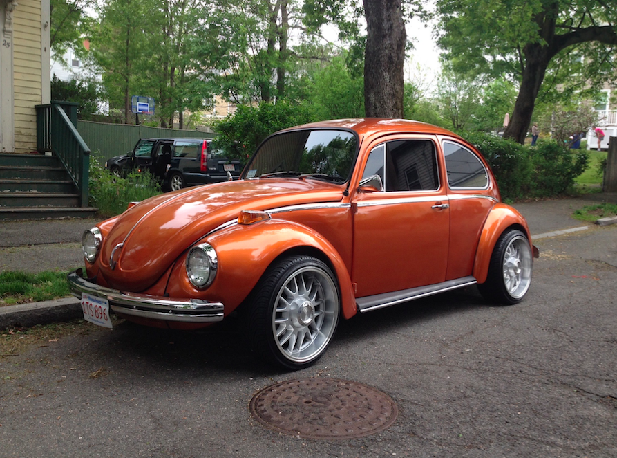 Orange Volkswagon Beetle Christopher Cerretani crop.png