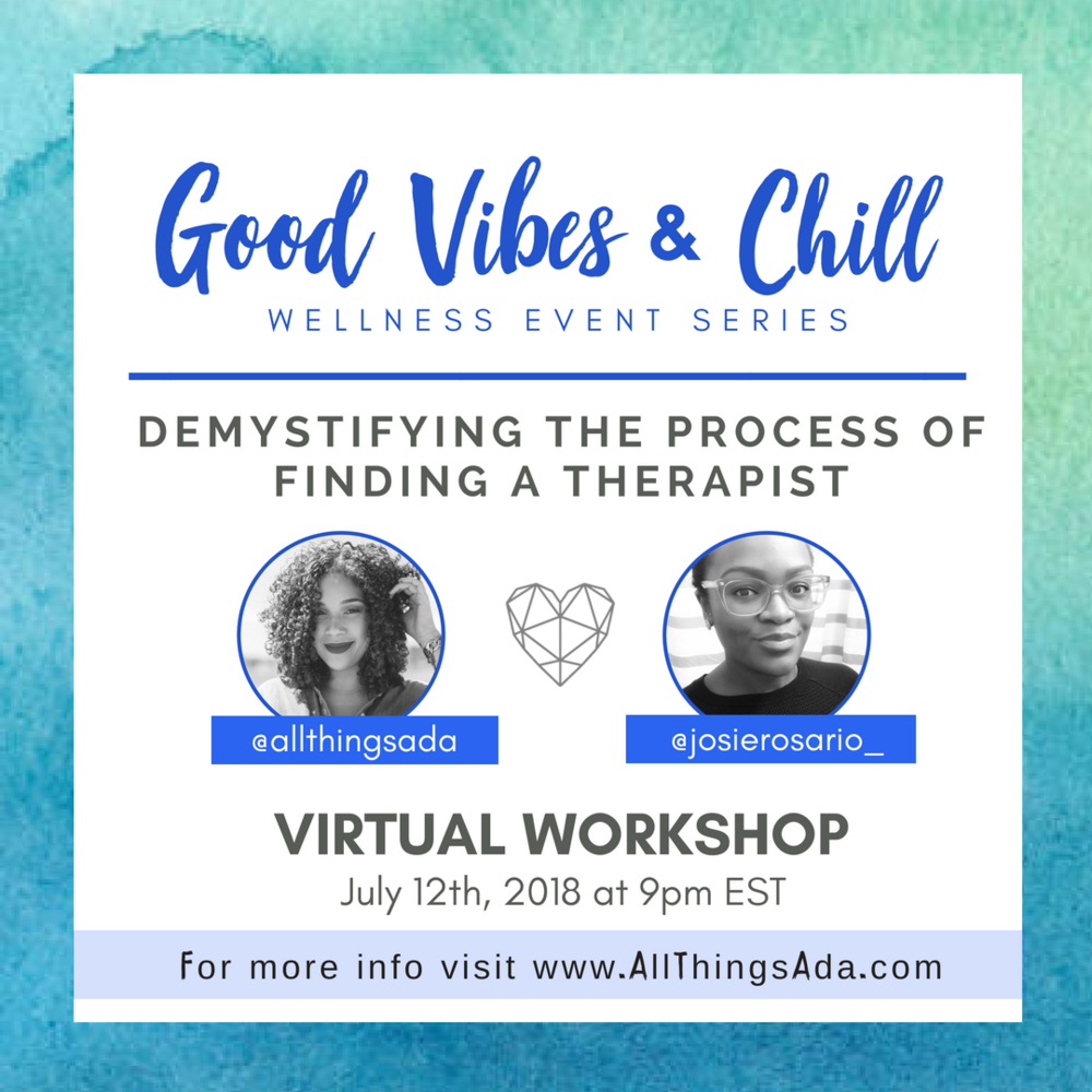 on join me and josie rosario mental health writer and therapist for a virtual workshop and learn how to leverage your emotional well being to thrive in