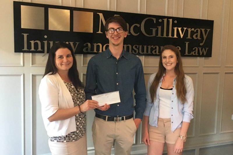 Luke MacIsaac scholarship