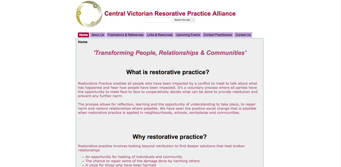 Central Victorian Resorative Practice Alliance