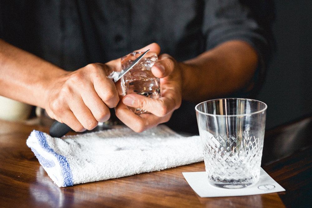Kenta Goto Shaving Ice Whiskey American Pursuits