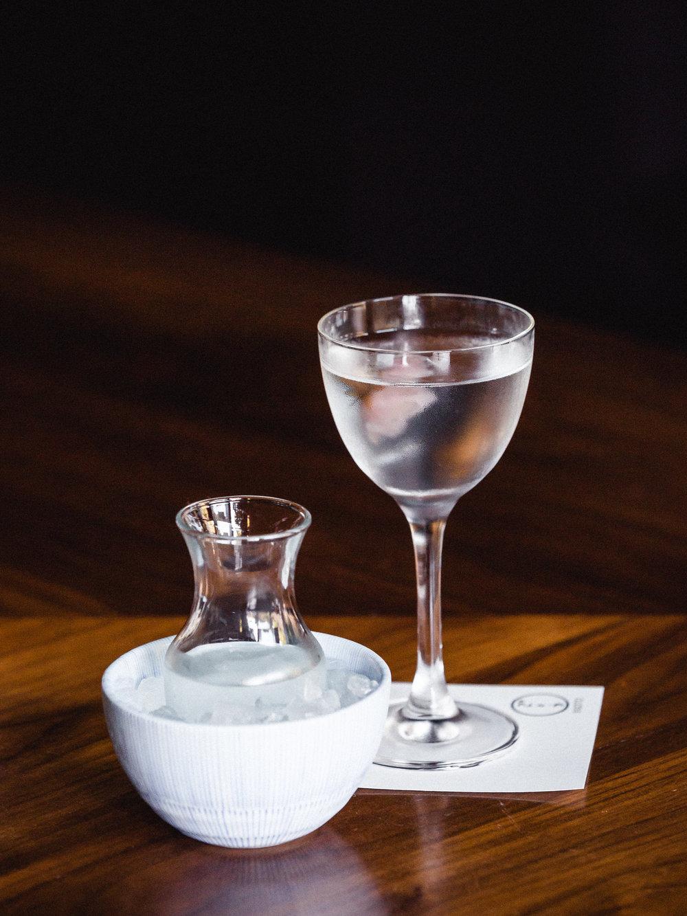 Kenta Goto Bar Drink Cocktail Lychee Sake Lower East Side