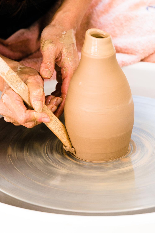 Hong Ling Wee Ceramicus Making Shot