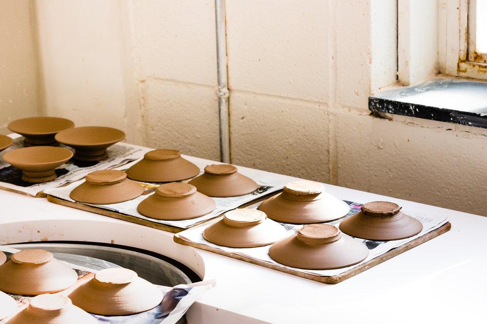 Hong Ling Wee Ceramicus Upper East Side YMCA Drying