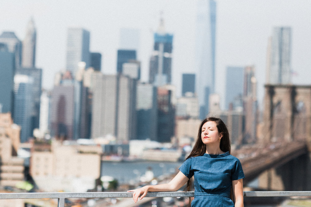 Eleonora Zorzi Etsy Product Designer Rooftop Portrait Brooklyn