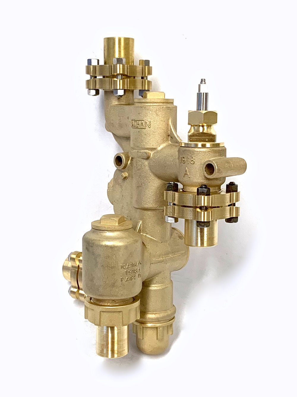 "Nathan 1918A steam injector in 1.6"" Scale"